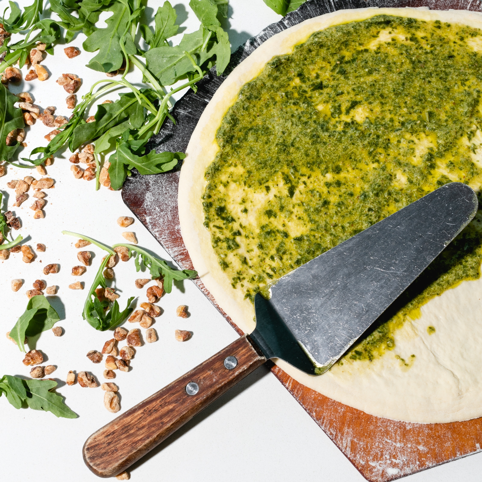 Walnut + Arugula Pesto